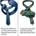 Pictorial Guide on How To Tie A Tie For Cooperate Dressing