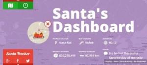Santa Tracker 2012 NORAD Presenting Gift Around the World