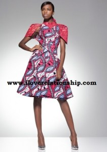 Ankara and lace  Stylish Fashion