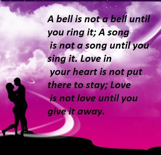 Inspirational Love Messages For Girlfriend: Love Quotes And Messages. QuotesGram