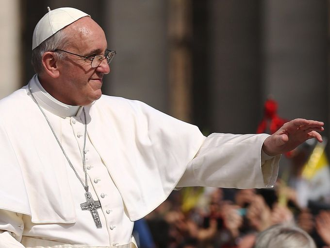 Pope Francis Celebrate Palm Sunday