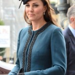 Pregnant Kate Middleton and Queen Mark London Underground 150th Anniversary in a fashionable outing