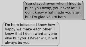 sweet relationship text messages