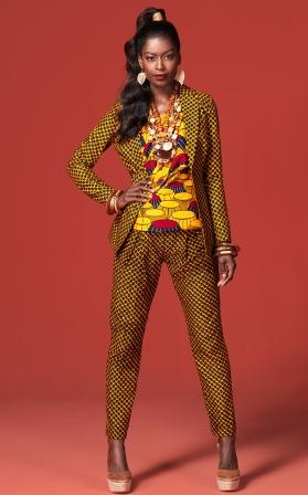 Ankara Fashion Designs dress