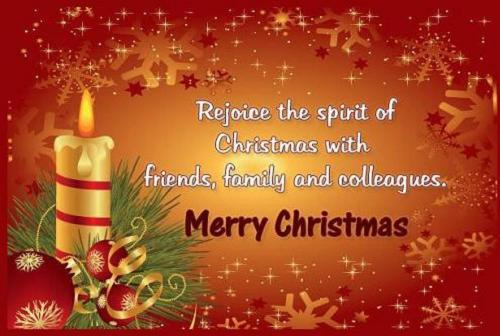 Christmas messages to friends and families m4hsunfo