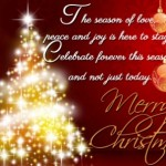 Merry Christmas Greetings Messages For The Season