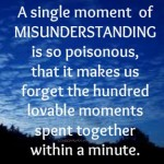 Some Tips to Avoid Misunderstandings in Relationship