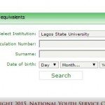NYSC 2015 Batch A Tertiary Institution Senate Approve List Confirmation