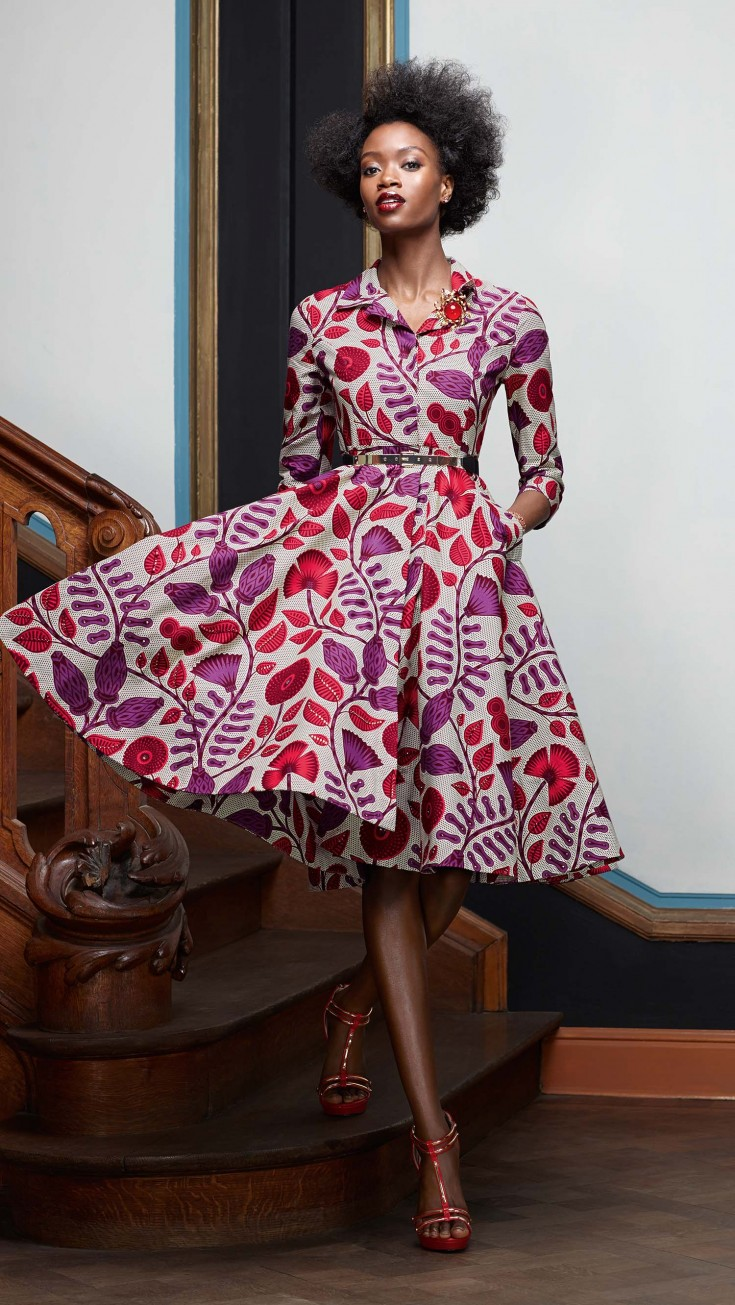 Vlisco Ankara Fashion Design