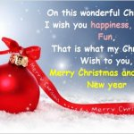 Christmas Greetings Text Messages and Wishes