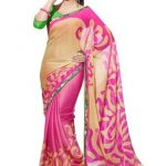 Set the Parties on Fire with Sexy Low Navel Chiffon Sarees