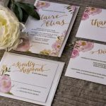 Invitations: The First Step to the Stylish Wedding