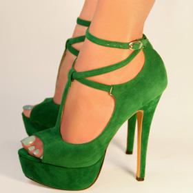 stilettos shoe pair