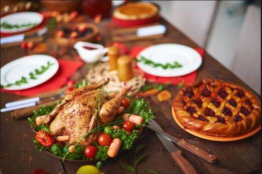 Binge eating at christmas