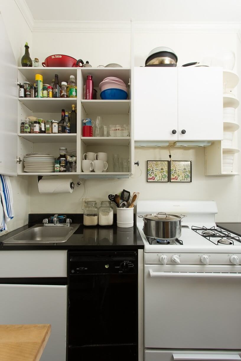 Smart and unique ways to create extra space in your small for Smart kitchen design small space