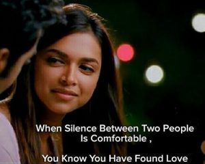 Comfortable Silence In Relationship
