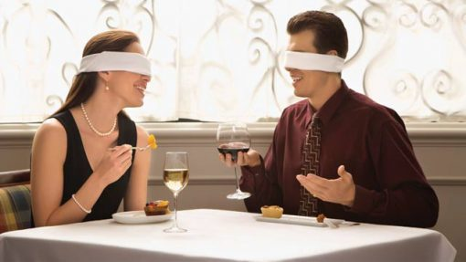 your first blind date