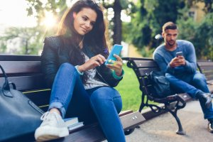 win a girl over using text messages