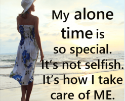 alone time is good for you