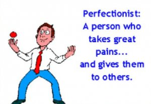 perfectionism can stop you being happy