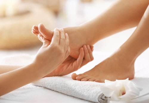 good foot massage