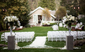 Backyard Wedding Elegant