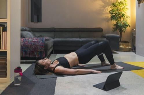 Easy Yoga Mat Exercises